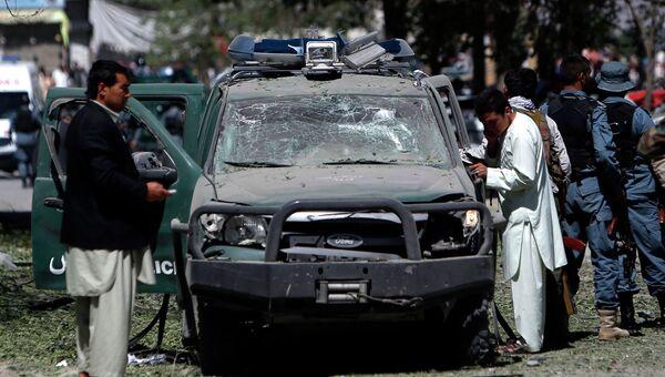 Теракт в Кабул афганистан