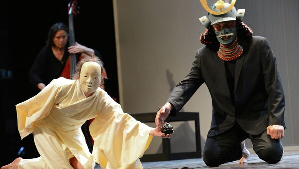Жозеф Надж представил спектакль Sho-bo-gen-zo на Чеховском фестивале