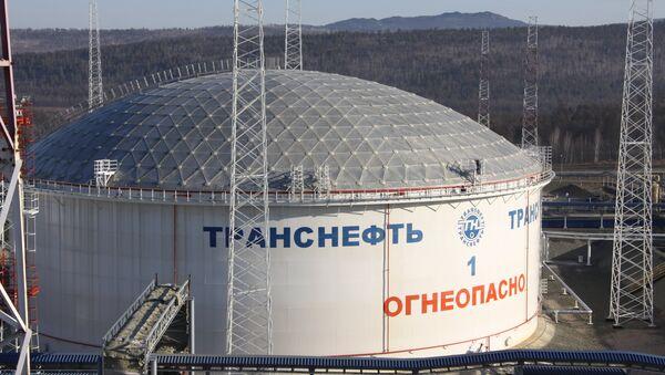 Нефтеперекачивающая станция ВСТО. Архивное фото