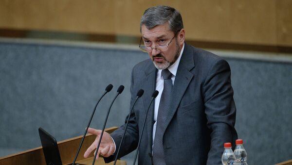 Руководитель Федеральной службы по тарифам (ФСТ) Сергей Новиков. Архивное фото