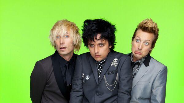 Панк-рок-группа Green Day