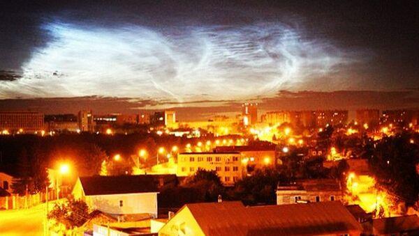 Челябинское северное сияние: жители видели необычное свечение в небе