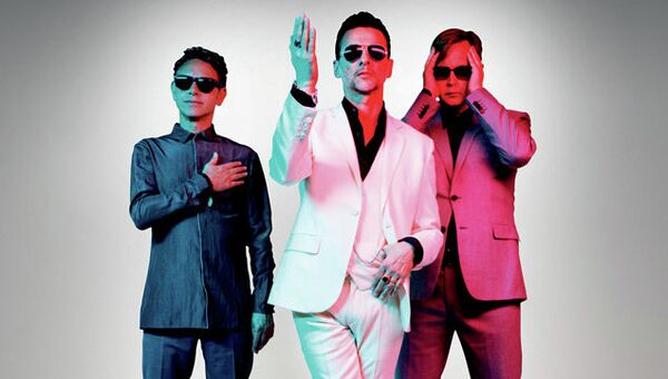 Афиша концерта Depeche Mode