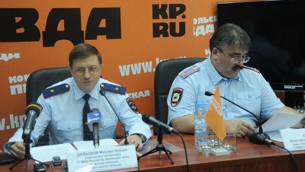 В КП-Пермь состоялась пресс-конференция об итогах работы полиции в период проведения фестиваля Белые ночи в Перми-2013