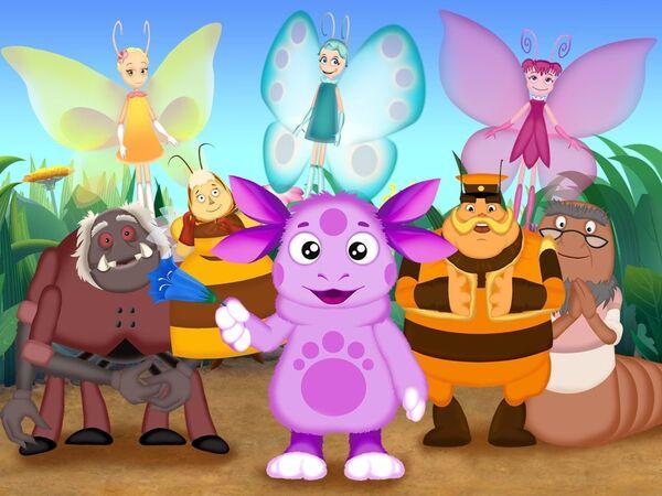 Кадр из мультсериала Лунтик и его друзья