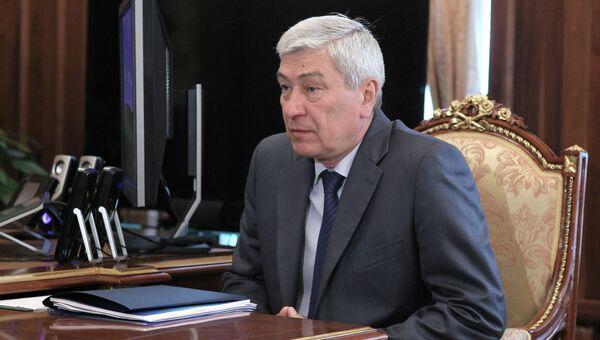 Руководитель Федеральной службы по финансовому мониторингу Юрий Чиханчин. Архивное фото