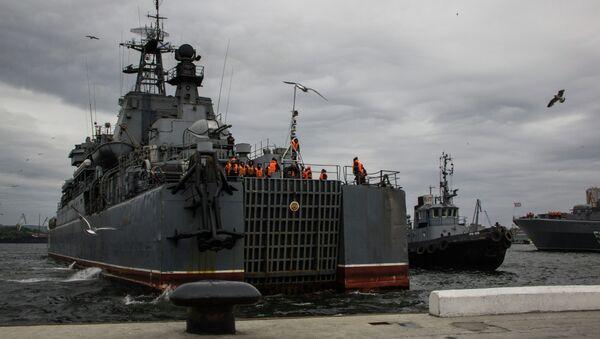 Встреча Похода памяти во Владивостоке