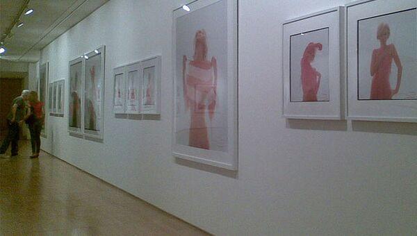 Выставка фотографий Мэрилин Монро, сделанных Бертом Штерном