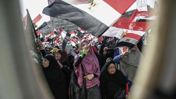 Митинги сторонников и противников президента М.Мурси в Каире