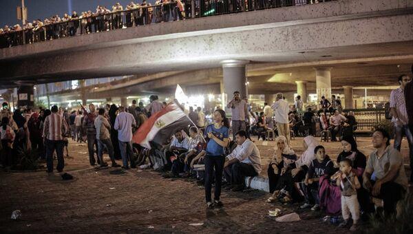 Митингующие на площади Тахрир в Каире, архивное фото
