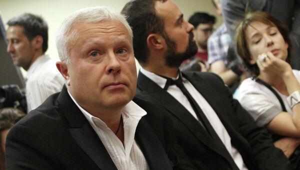 Оглашение приговора по делу банкира А.Лебедева