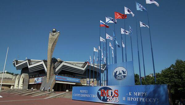 Перед открытием Международного военно-морского салона в Петербурге