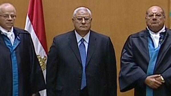 Временный президент Египта Адли Мансур пообещал отстаивать интересы народа