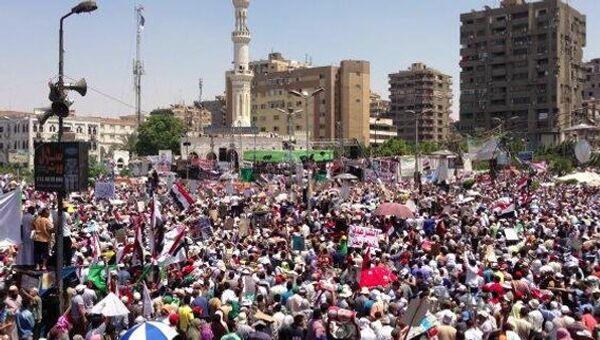Столкновения военных и сторонников Мурси в Египте