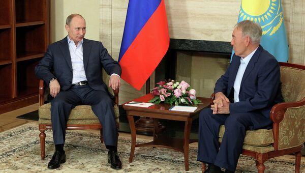 Визит В.Путина в Казахстан