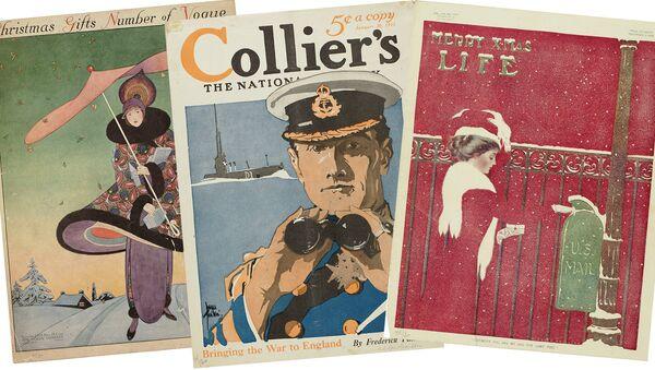 Выставка журналов Америки эпохи модерн и ар-деко открывается в ГМИИ