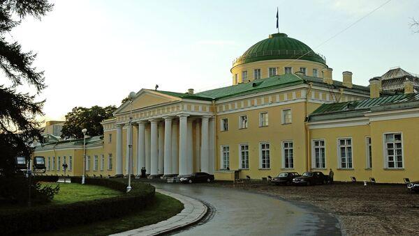 Таврический дворец в Санкт-Петербурге. Архивное фото