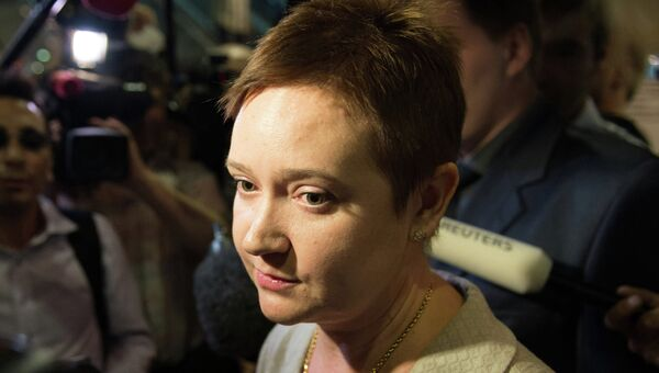 Член Общественной палаты РФ Ольга Костина, архивное фото