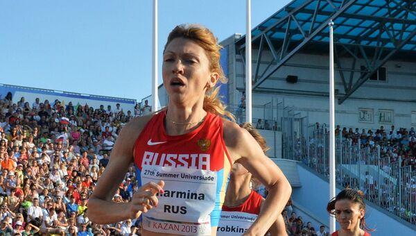 Российская легкоатлетка Екатерина Шармина. Архивное фото