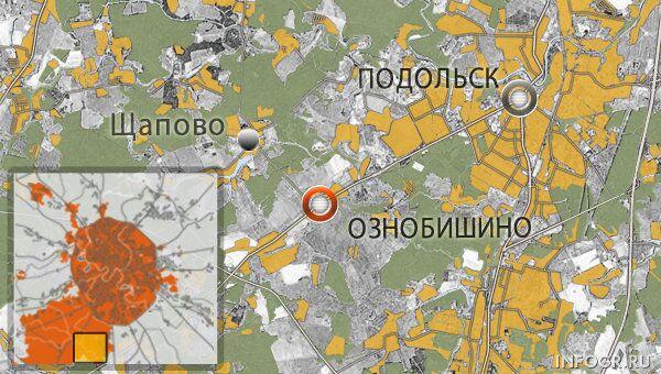 Село Ознобишино, новая Москва