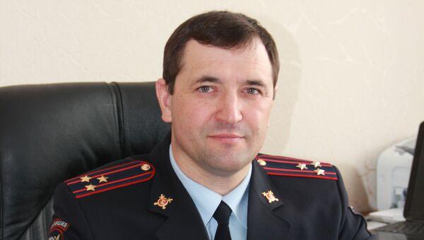 Полковник полиции Сергей Чернышов