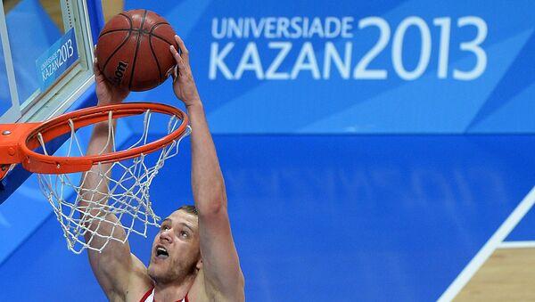 Баскетболист Андрей Зубков. Архивное фото