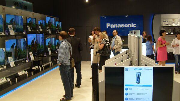Магазин Panasonic. Архивное фото
