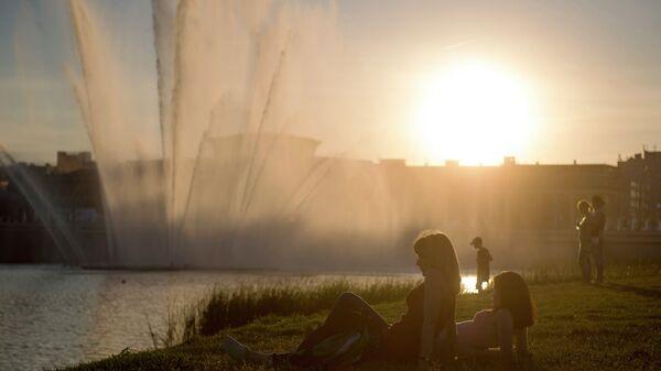 На Набережной озера Кабан в Казани