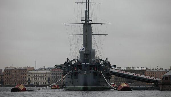 Крейсер Аврора, архивное фото
