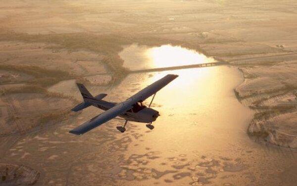 Легкомоторный самолет Цессна. Архивное фото
