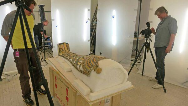 Фотографирование мумии