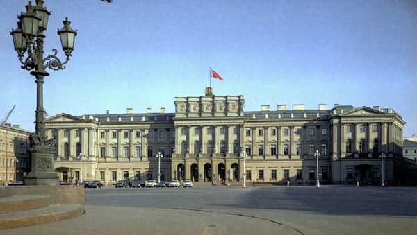 Законодательное собрание Санкт-Петербурга. Архивное фото