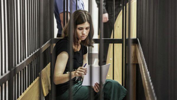 Участница панк-группы Pussy Riot Надежда Толоконникова. Архивное фото