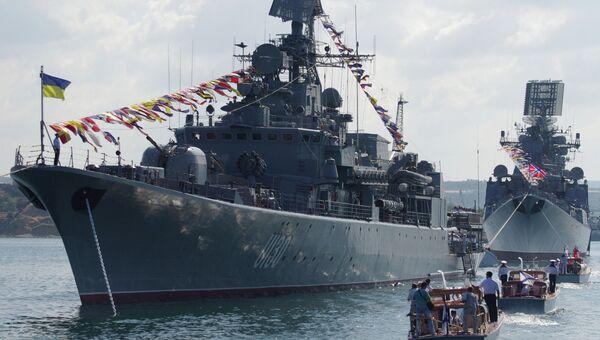 Парад к Дню ВМФ. Архивное фото