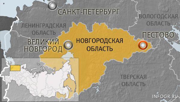Город Пестово Новгородской области
