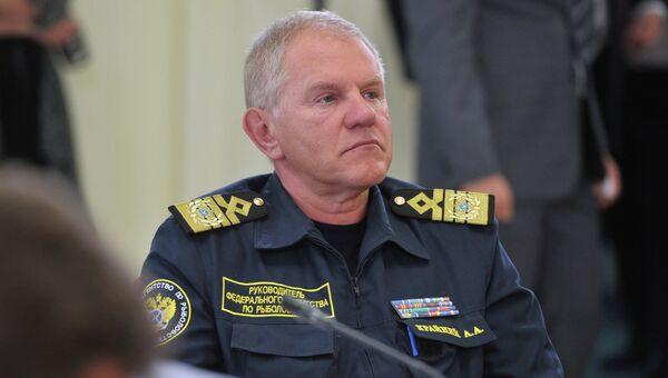 Руководитель Федерального агентства по рыболовству РФ Андрей Крайний. Архив