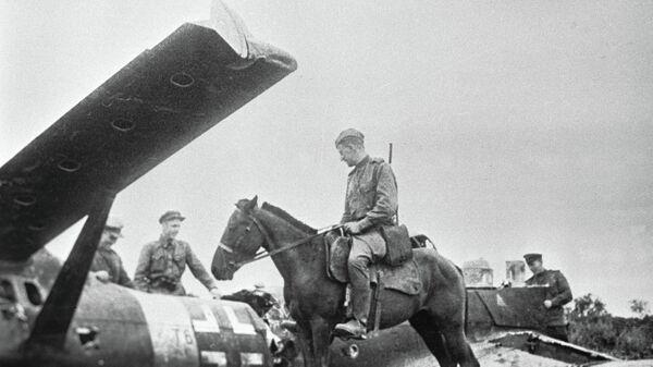 Разбитый немецкий самолет