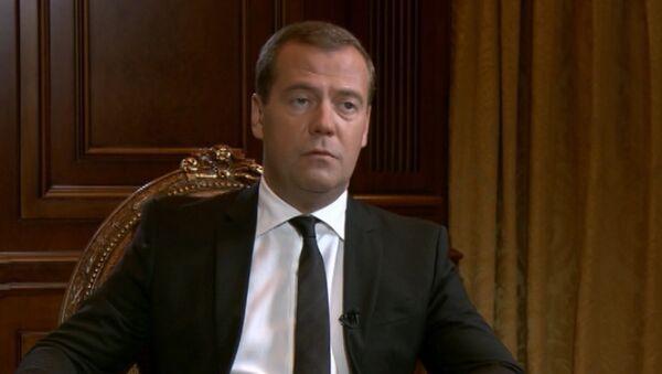 Медведев о Саакашвили, конфликте в Южной Осетии и роли США в нем