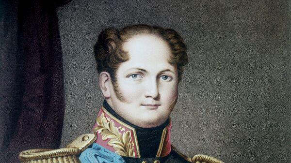 Репродукция картины-копии Портрет Александра I
