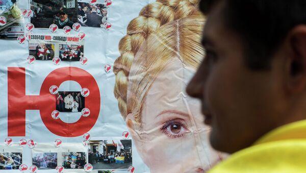 Сторонник лидера украинской оппозиционной партии Батькивщина, экс-премьера Юлии Тимошенко