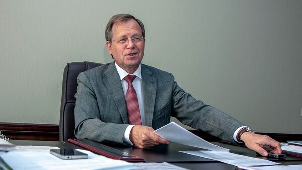 Министр образования, науки и инновационной политики Новосибирской области Владимир Никонов