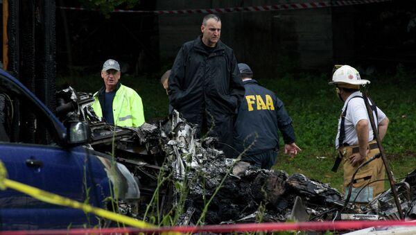 Крушение самолета в штате Коннектикут