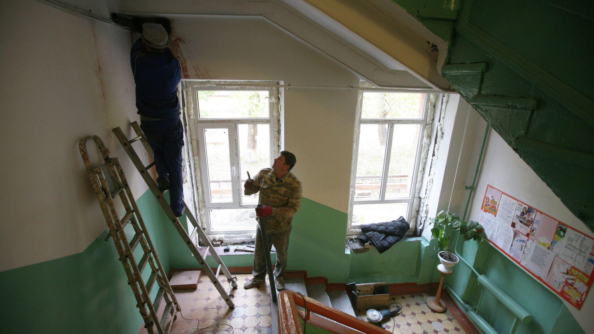 Работа коммунальных служб - РИА Новости, 1920, 11.01.2021