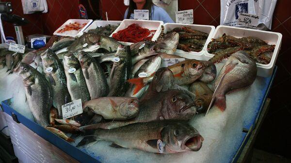 Рыбный рынок в Сен-Тропе, Франция