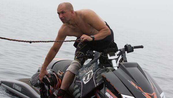 Организатор ЧМ по ралли-рейду на аквабайках во Владивостоке Юрий Рябко