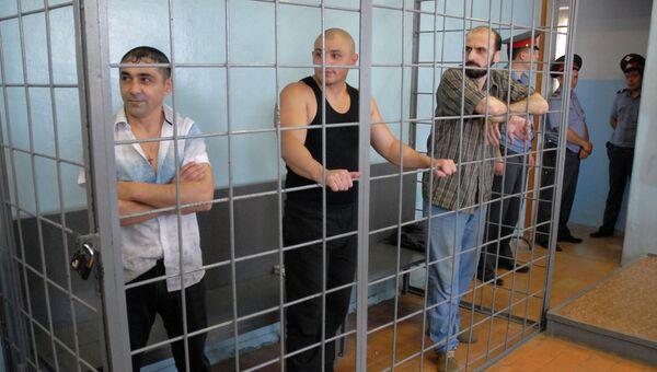 Суд над участниками нападения на семью бизнесмена Г.Саркисяна. Архивное фото