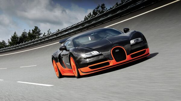 Автомобиль Bugatti Veyron Super Sport