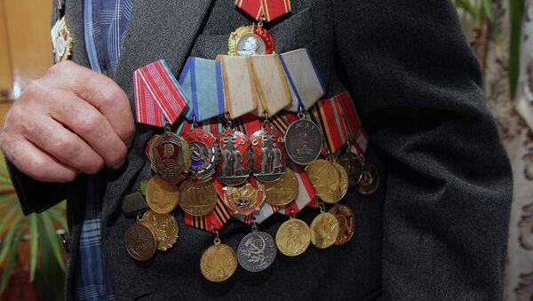 Ветеран. Архивное фото