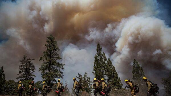 Режим ЧП объявили в Калифорнии из-за лесного пожара