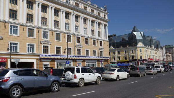 Центр Владивостока, улица Светланская